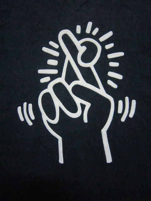 totalimmortalbeloved:  by Keith Haring.