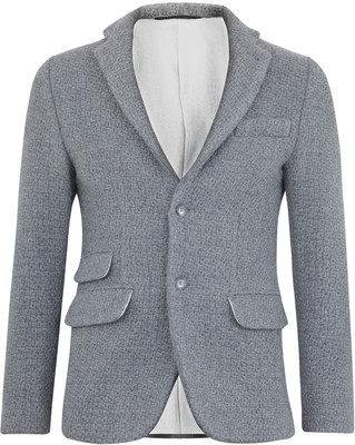 Liberty London Knitted Wool Blazer