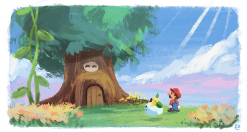 "everydaylouie:  3-4-13: Day 334 ""thanks for saving flower fields, mario and lakilester"" ""ITS SPIIIIIKE"""
