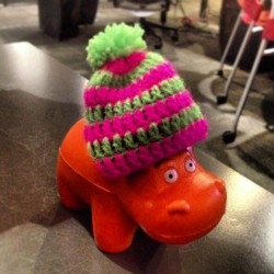 Hipster Hippo is hip (at Blast Radius)