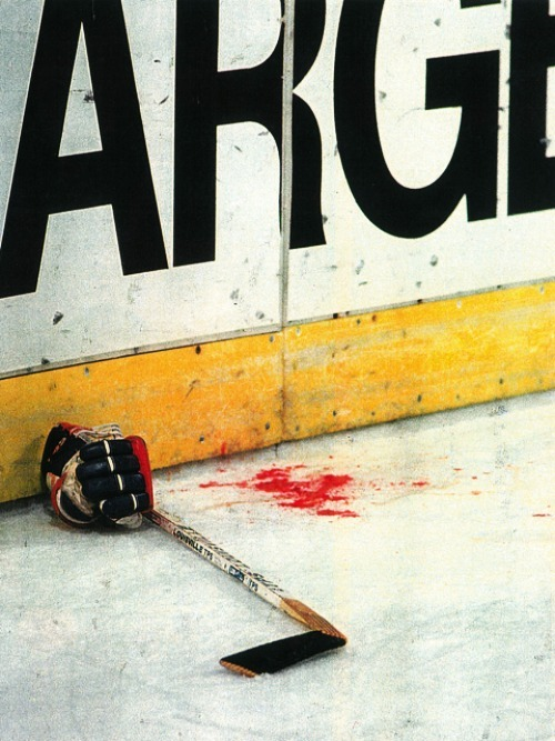 Pic: Hockey… Where Only The Strong Survive.