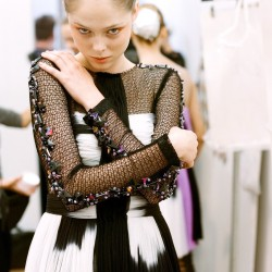 officialrodarte:  Coco Rocha Backstage at Rodarte's SS09 Runway Show (photo by Autumn de Wilde).  ❤