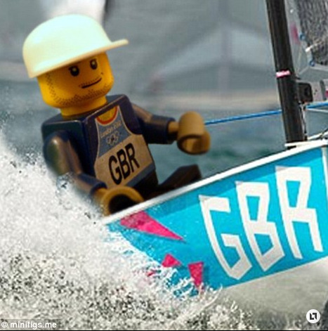Olympic Gold Medalist Ben Ainslie immortalized in….LEGO!