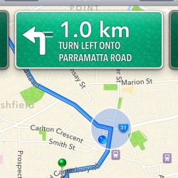 @Apple ur crap at #Maps - it's left turn only!!