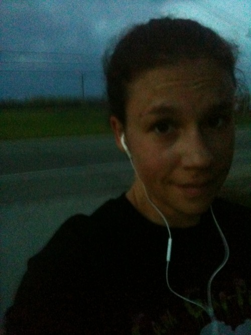 Another 3 miles as it was getting dark. Almost the exact same run as last night.  Even my music.  For some reason my phone started with the exact same song as last night and played the exact same songs after that as well.  Not sure why.  I am sure it is because of something I did, lol. 3 miles25:43 (5 seconds faster than last night!)8:34 pace(135.78/500) <- I gotta round that number up soon, it is driving me nuts. I felt really good on this run.  Strong and not too winded.  I tried to just focus on my form and my breathing. I am sure that is exactly what I will be doing during the halfs (halves?) this weekend.  Concentrate on my head up, arms low, arms moving, legs strong, knees up (a little, I tend to not bend them at all), abs in, back straight, strong core, breath in through my nose, out through my mouth.  If I just keep thinking of all that, along with my running music, I can get through the 2 hours (<-note my confidence) no problem.    No run tomorrow, of course.