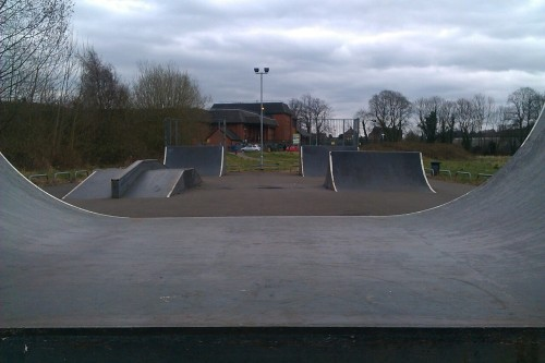 Love being at the skatepark on my own