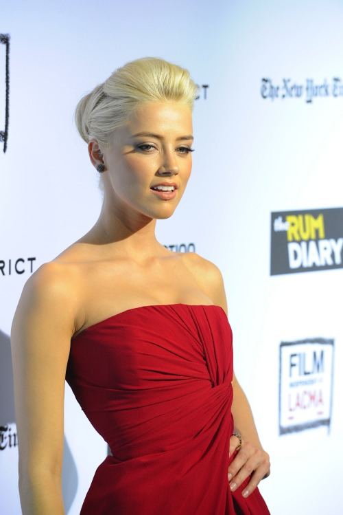 Girl crush, Amber Heard♥