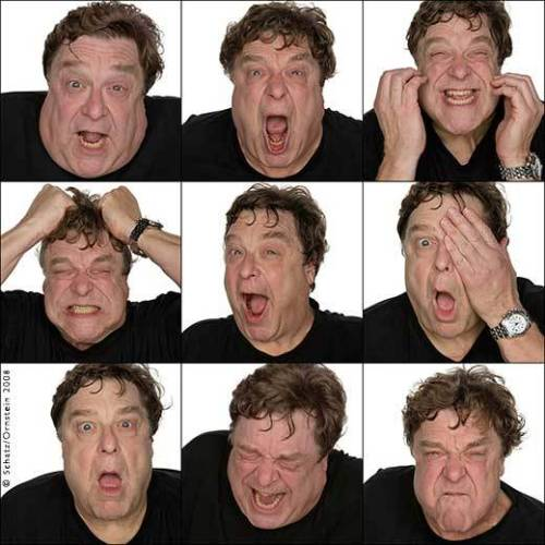 John Goodman by Howard Schatz