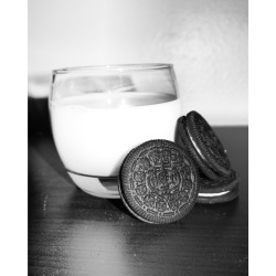 Oreos+milk=perfection
