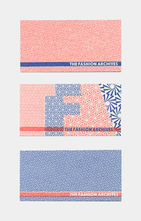 smallhousebooks:  Business cards for The Fashion Archives