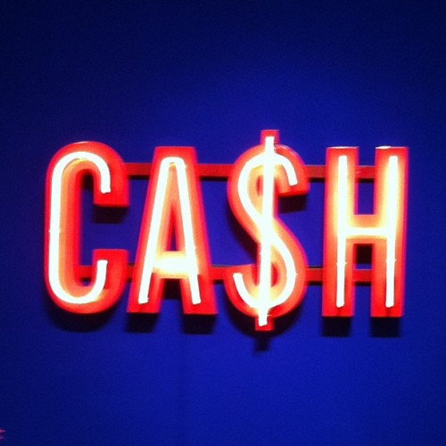 #latergram from #blogtouLDN, cash wrap signage at the legendary .@theconranshop