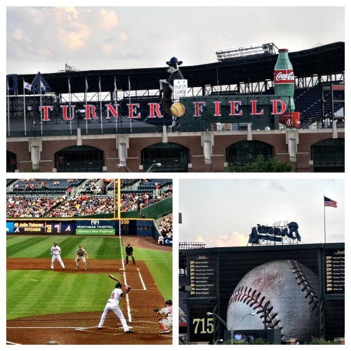 :: INVESTMENT :: Recently I was reminded of how much I love Turner Field Stadium, baseball and the Braves.  I attended the Atlanta Braves vs. Washington Nationals (Braves won!) game about a week ago and while I sat there getting caught up in the excitement, I was able to walk down that mental memory lane.  When I first moved to America, I went to a Braves game and was hooked.  I've seen Dave Matthews Band there— One of the best shows I've ever been to. Atlanta loves their Braves and the atmosphere really lends to that feeling of belonging on a very simple human level.   When we left, while sitting in traffic I was still fondly reminiscent of the simple joys that come just by watching a game, laughing with friends, making new friends and spending some downtime.  Here's to a great sport and a beautiful Atlanta landmark. One of the many reasons why I LOVE ATL. I took these pictures to share with you all. I hope you enjoy them.  -McKenzie