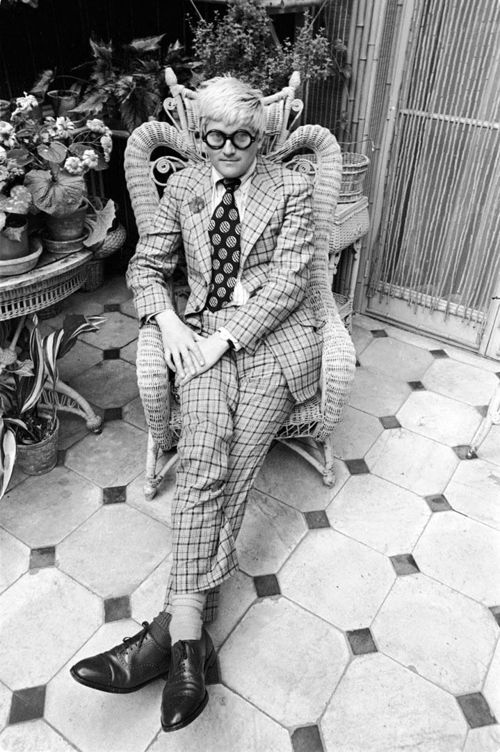 David Hockney. By Cecil Beaton.