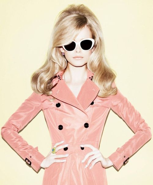 Buried Treasure: From Elle Russia March 2012. Sassy, Vintage Chic and pastel fabulousness! Love this editorial! The model looks like a Barbie too which is always a plus!