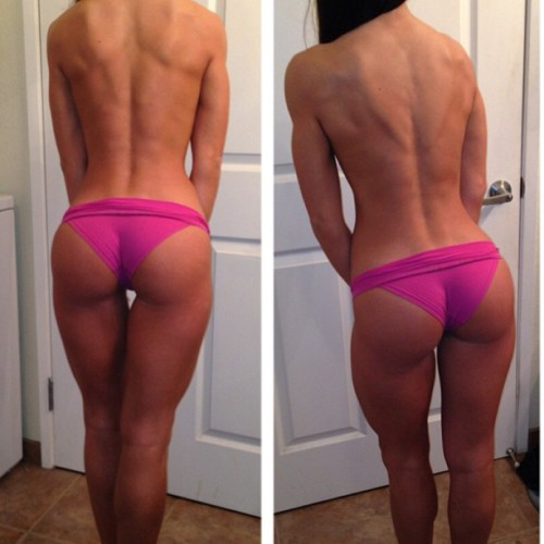 classyfitfighter:  ever-striving:  w.o.w.  Dat Back Dat Ass