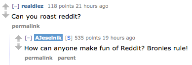 Anthony Jeselnik did a Reddit AMA and, just like bronies, it rules. Click on the image to read it. The Jeselnik Offensive premieres tonight at 10:30/9:30c.