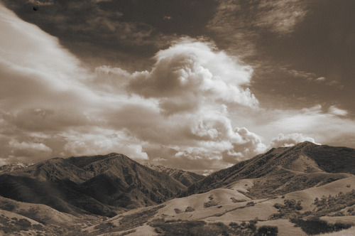 Clouds over the Wasatch, Utah on Flickr.
