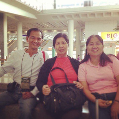 My travel buddies (at Hong Kong International Airport | HKG | 香港國際機場)