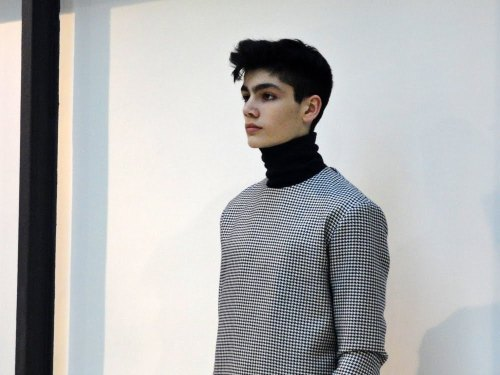 stray-souls:  Raf Simons F/W 2013 showroom