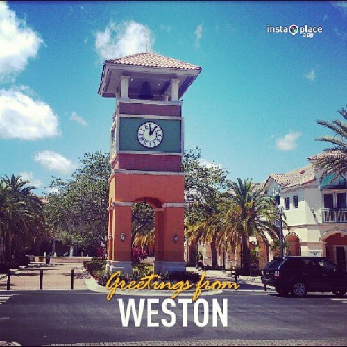 Greetings from Weston ! #SouthFlorida #Florida #Weston