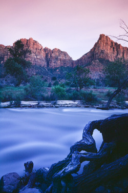 6o4:  Zion NP Utah USA The Watchman by Lucidio Studio on Flickr.