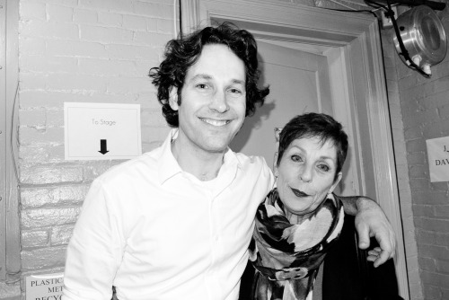 terrysdiary:  Paul Rudd and his Mom
