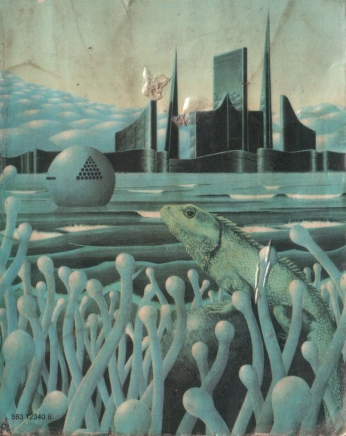 empyr3an:  City of The Chasch by Jack Vance, 1974. Cover artist Peter Goodfellow