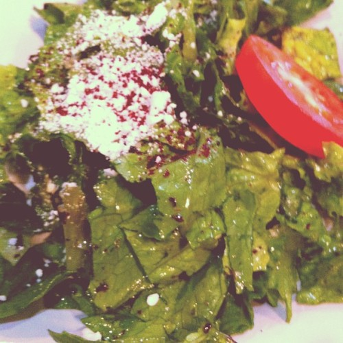Salad, Greek. #Salad (at Cafe Phoenicia)