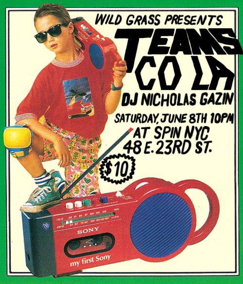 This is a flyer I made for a party I am DJing at a ping pong club.