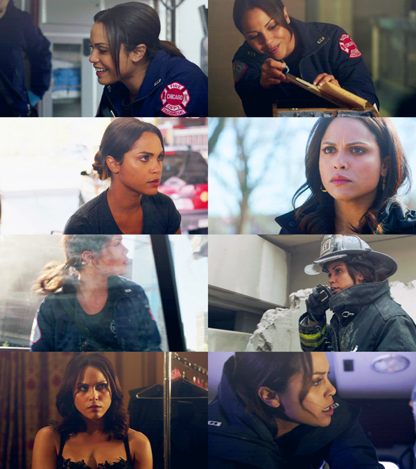One of the only things you need to know about Chicago Fire is that Gabriela Dawson has a nice face.  dedicated to my lovely wife; twoboobsjohnson