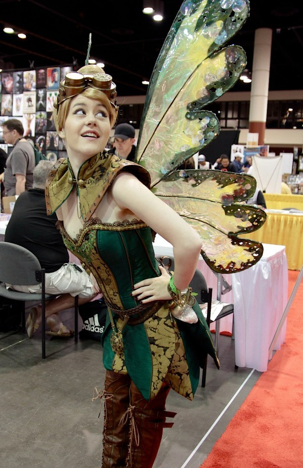 larpers-are-sexy:  Steampunk Tinkerbell cosplay created by Firefly Path.