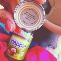 I love snapple 😋 #facts #curious #tongue #discover #new #girlyday #pink #ripped