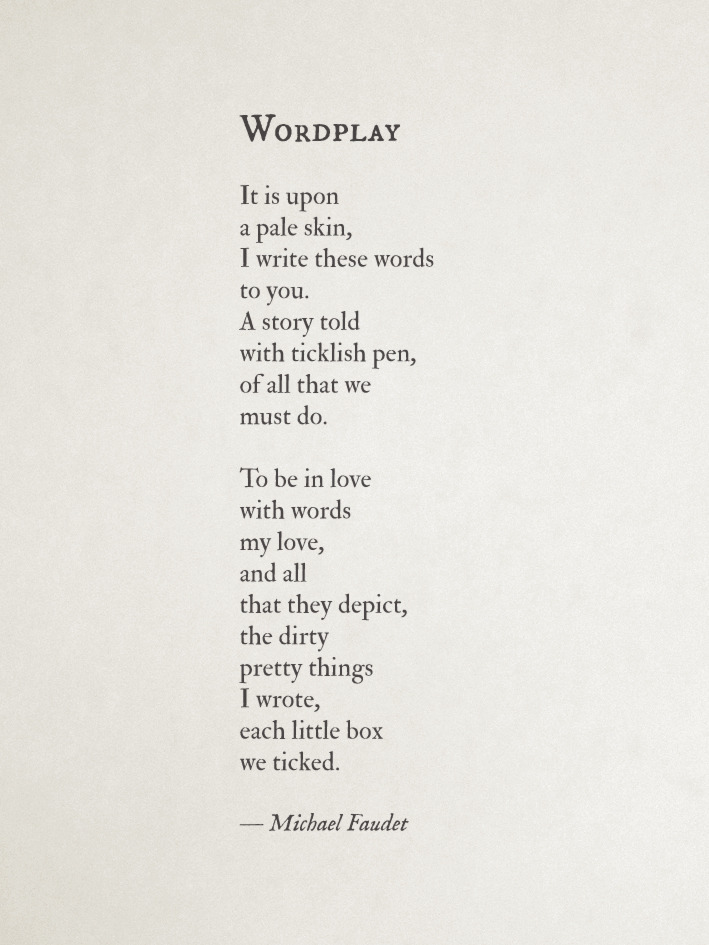langleav:  Wordplay by Michael Faudet