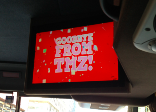 "rembertbrowne:  took the NYC TMZ bus tour. learned about celebs. won a t-shirt. a lady called swizz beatz ""biz sweets"" article  Poor Rem."