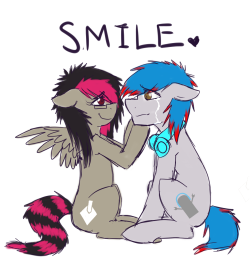 askmixipony:  Just a quick gift for tomby,I just want to let you know your friends are here for you!I know your strong and you will get through this! If you ever need to ventI am always here, I am practically awake 24/7never give up, just keep smilingLots of love - Mixi