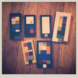 recent lego iPods and iPhones.
