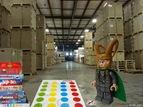 lego-loki:  I will be be playing in a warehouse from December till February.