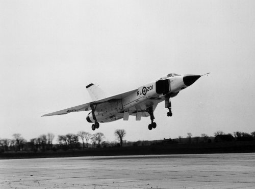 What Might Have Been…The Avro Canada Arrow: Image #3 RL-201 rotates on take off