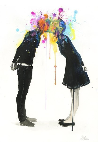 rafito-no-equal:  BIG BANG KISS by *lora-zombie