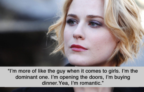 buzzfeedlgbt:  Evan Rachel Wood Is Doing It For All The Bisexual Ladies Out There