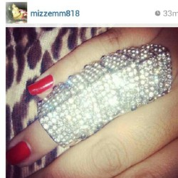 Glam Shine Ring from www.LilXurious.com #rings #glam #instafresh #niceee #instafashion