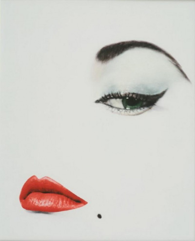 supermodelgif:  Vogue, 1950. Shot by the influential Erwin Blumenfeld