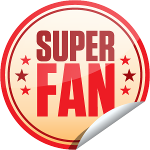 I just unlocked the Superfan sticker on GetGlue                      267854 others have also unlocked the Superfan sticker on GetGlue.com                  You're a Superfan! That's a like and 15 check-ins!