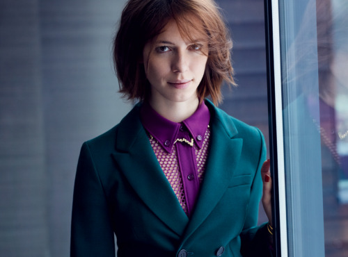 edenliaothewomb:  Rebecca Hall, photographed by Kate Sebbah for InStyle, May 2013.