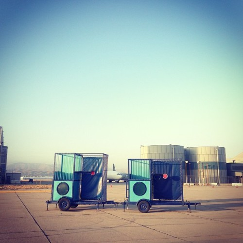 Dunk tanks. Because whatever.