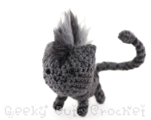 Gray mohawk tabby! Get it here.