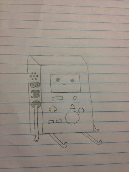 BMO that my friend drew! #bmo #adventuretime #drawing