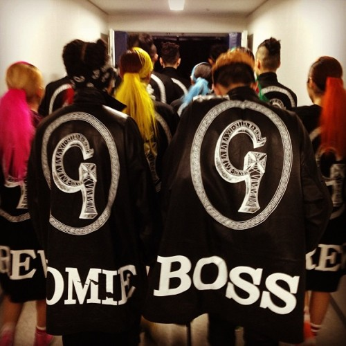 "130429 GD's Instagram Updates ""ONEOFAKINDWORLD TOURINJAPAN#OSAKA#BOSS#HOMIE#CREW"""