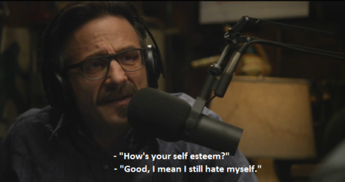 realitybl0ws:  that moment when you realize you're marc maron