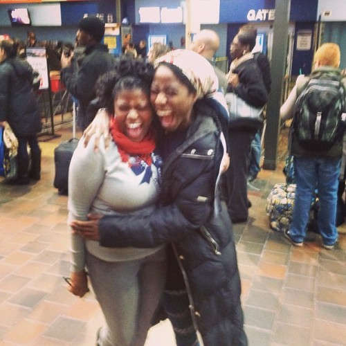 A Joyful #ReUnion With The @PlanetBlaster In #DC for #Inauguration #2013 She Had Just Came Back From My Country #Hispaniola aka #Haiti & #DominicanRepublic